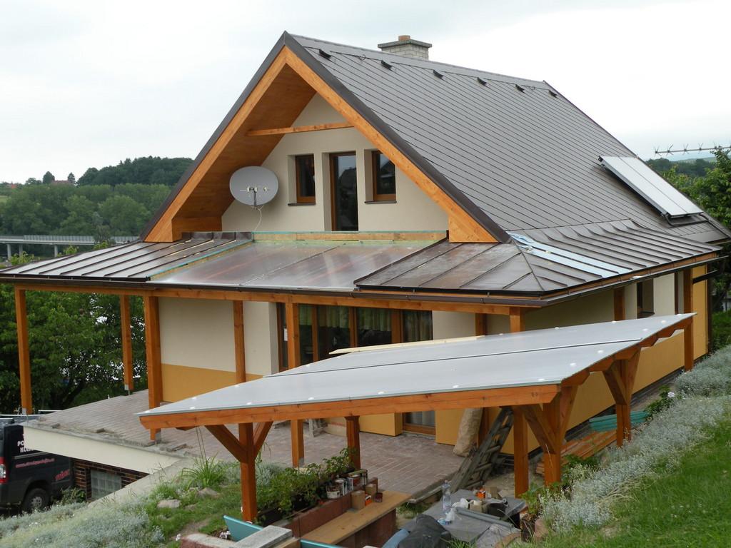 Falcovaná krytina PLX, Eternit Dacora – Klempířské práce Střechy Matějka