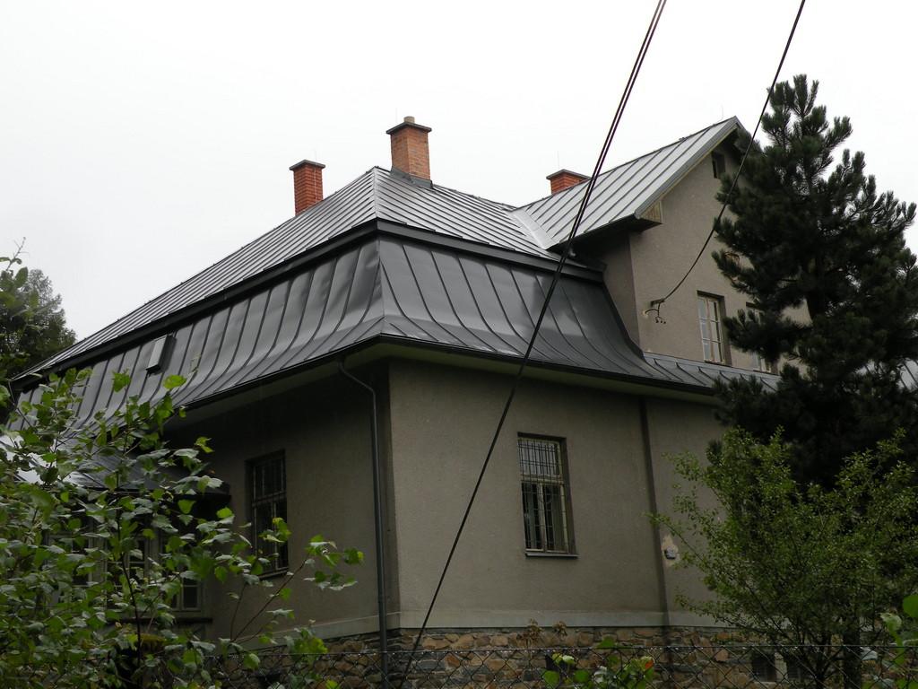 Falcovaná krytina PLX – Klempířské práce Střechy Matějka