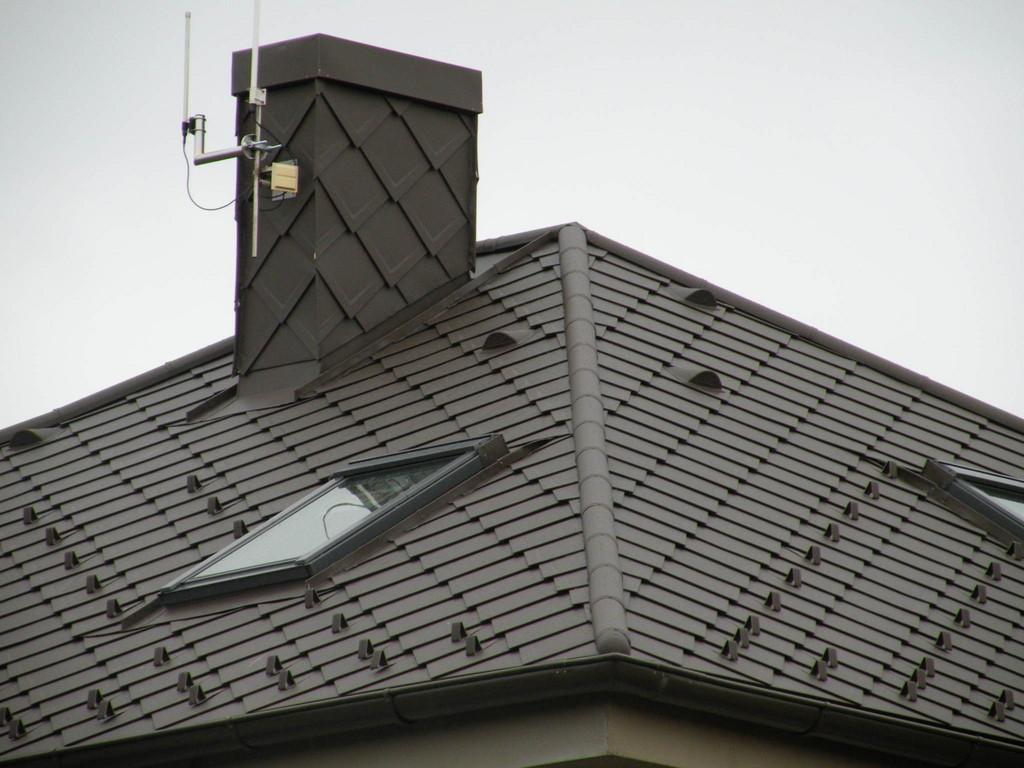 PREFA - falcovaná šablona – Klempířské práce Střechy Matějka