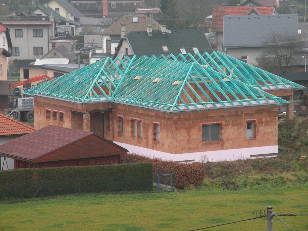 Tesařské práce - Střechy Matějka